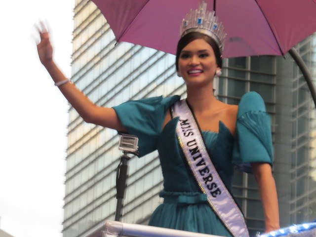 Miss Universe Pia Alonzo Wurtzbach Homecoming 2016 Ayala Avenue Makati City, Philippines Photography: Bernard Eirrol Tugade