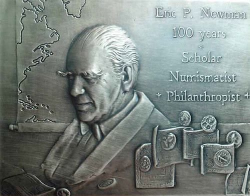 Eric P. Newman 100 years medal