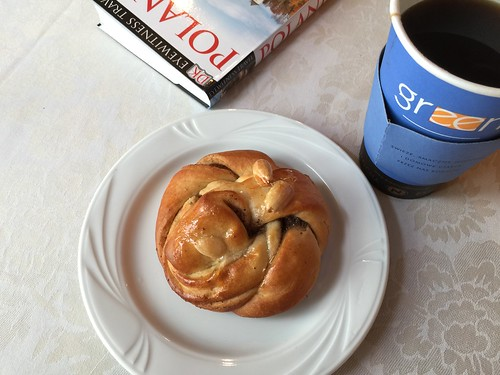 Cardamom bun for breakfast | by Rachel Cotterill