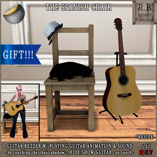 Jack or Jill Hunt Gift!!! *RnB* The Spanish Chair: guitar rezzer w/ anim & music | by Bethesa