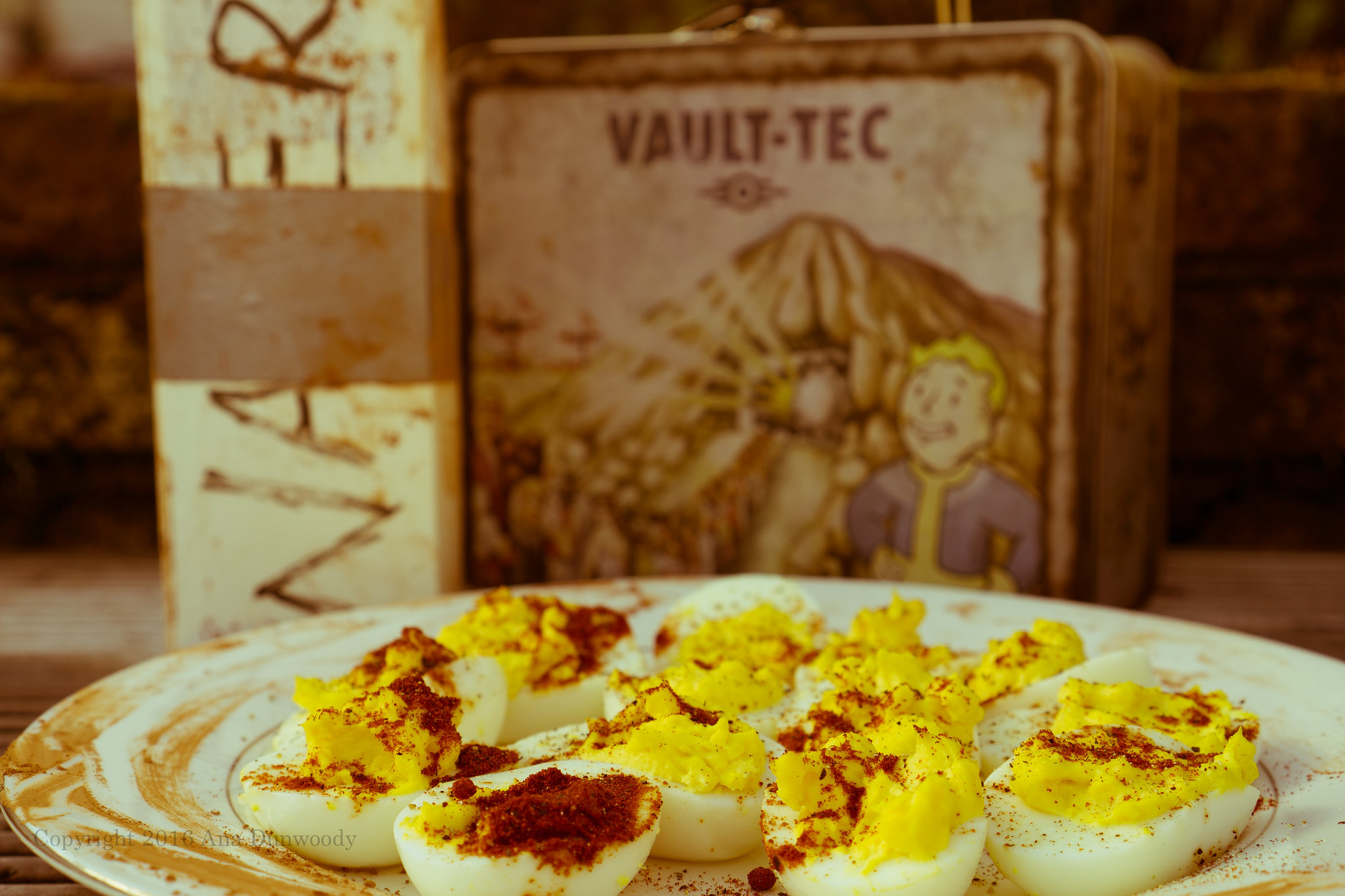 Fallout 4 Meal - Dirty Water and Yum Yum Deviled Eggs