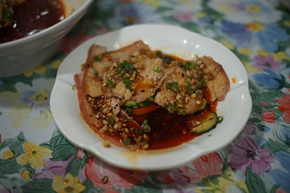 Pork slices with garlic / 良品 at Shek Tong Tsui cooked food centre | by Cedric Sam