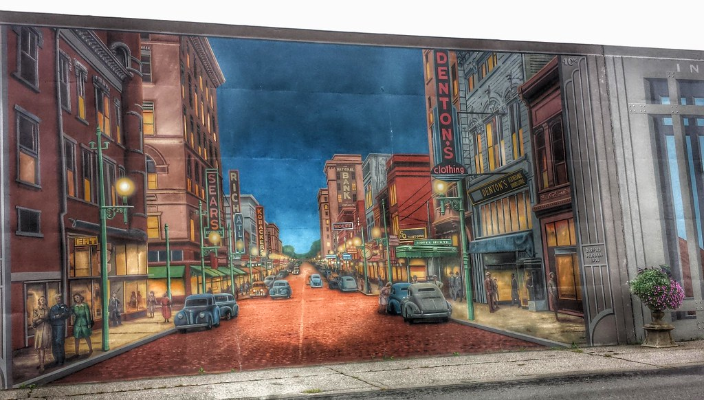... Flood Wall Murals  Portsmouth OH (21)   By Kevystew