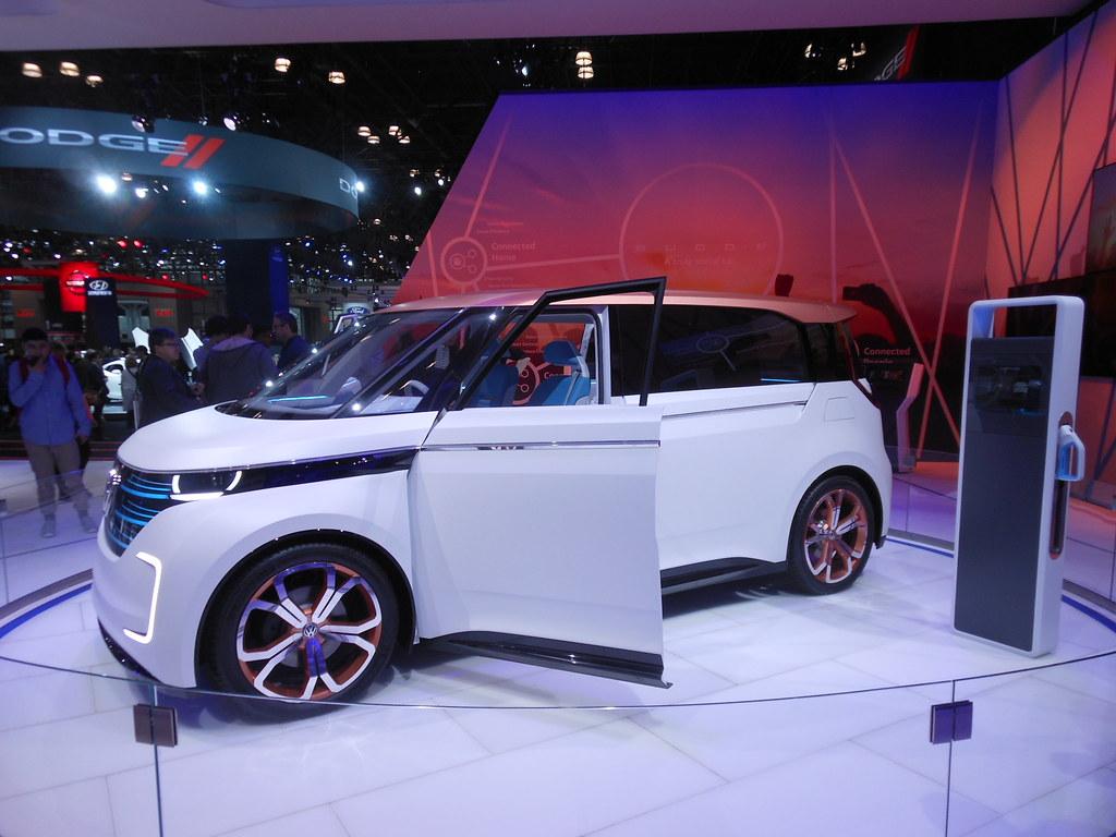 New York Auto Show Volkswagen BuddE Concept Flickr - Volkswagen new york