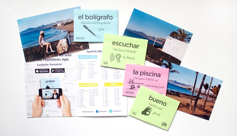 Learning Spanish with Flashsticks | lifeofkitty.co.uk