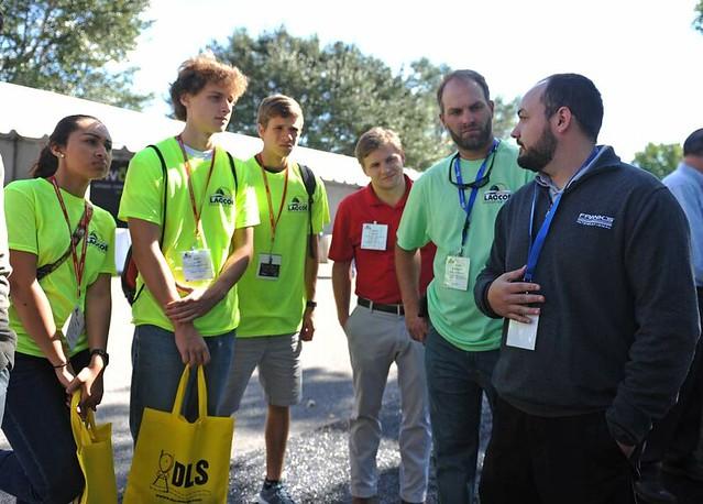 Future Energy Professionals Tours of LAGCOE 2015