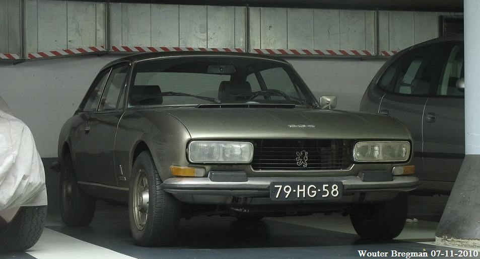 Peugeot 504 V6 Coupe 1975 Haarlem Netherlands Flickr
