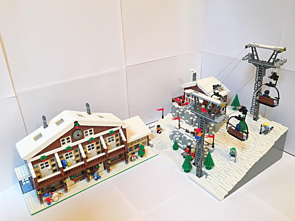 lego ski resort (moc) | ivan bricks | flickr