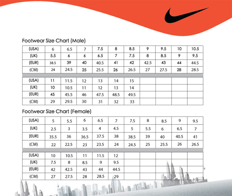 Nike shoes chart jean pan flickr