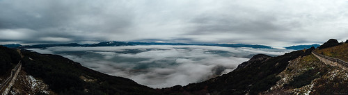 Fog and clouds panorama | by Nick-K (Nikos Koutoulas)