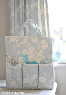 Craft Storage Bag sewing tutorial 21 | by toriejayne
