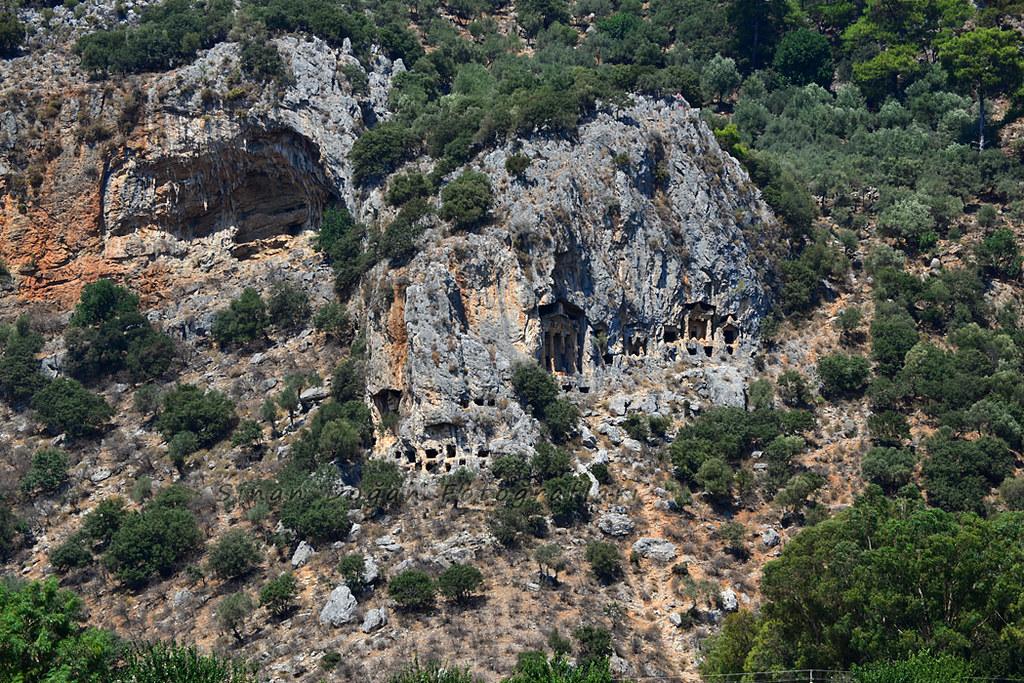 kaunos kaya mezarları ile ilgili görsel sonucu