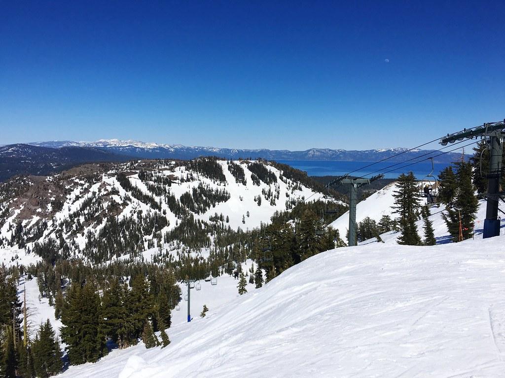 end of season skiing in lake tahoe at alpine meadows ski r… | flickr