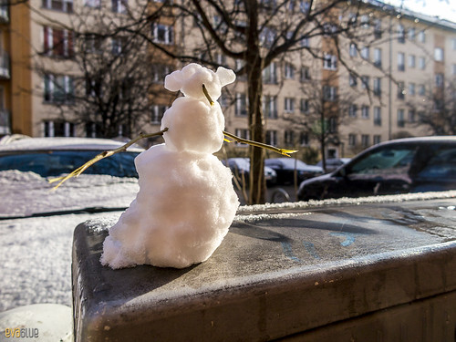 snowman berlin | by Eva Blue