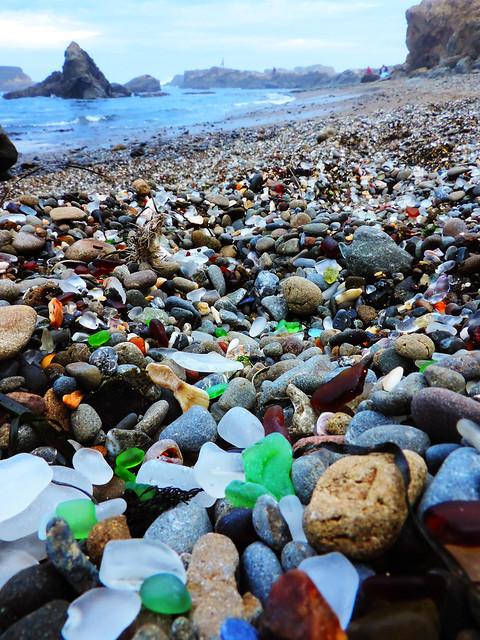 Glass Beach, Fort Bragg, CA, US