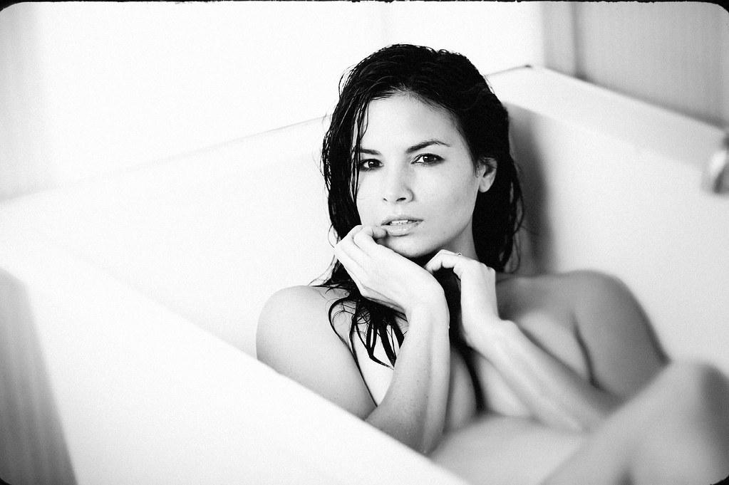 Katrina Law In The Tub