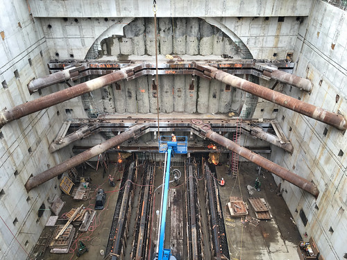 A Bertha-sized tunneling target at the north end of the SR 99 tunnel | by WSDOT