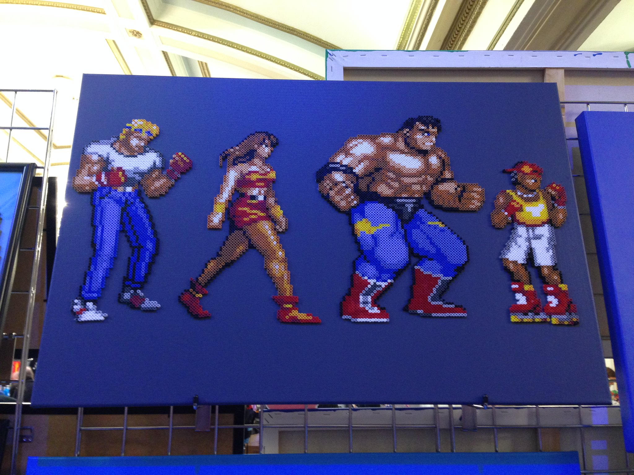 Replay Events Ltd 2016 PLAY Expo Blackpool Streets of Rage via Sprite Planet
