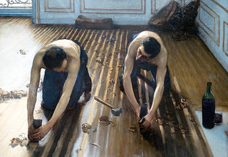Caillebotte The Floor Scrapers Detail 1875 Gustave