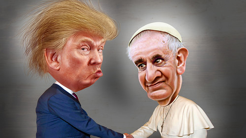 Donald Trump Is Not Going to Sue Pope Francis