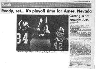 1986 AHS Football scanned newspaper article p024 dated October 28 1986 #AmesHighClassof1986 #AHS1986football #AHS1986 | by ameshighschool
