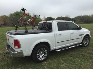 Truck Bed Mounted Water Tank