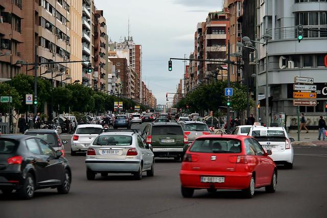 Valencia: Avinguda del Port