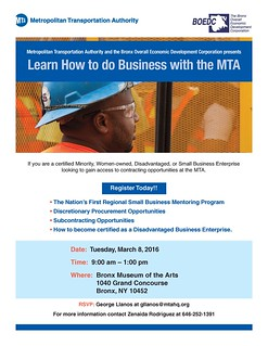 BOEDC and MTA Final Flyer | by bronxbp