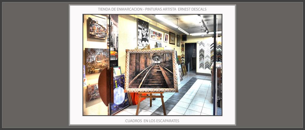 CUADROS-PINTURA-TIENDAS-MARCOS-ENMARCACION-PINTURAS-ESCAPA… | Flickr