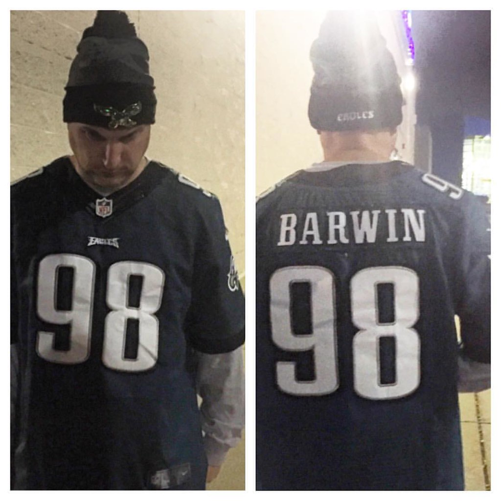 new concept a99b5 2b427 Day 109 of wearing Eagles gear and not repeating in the '1 ...