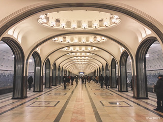 Subway, Moscow Style | by SWTRIPS