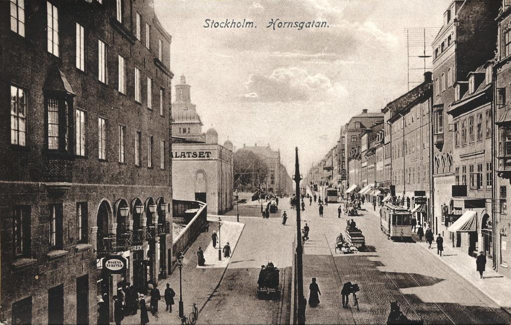 Stockholm Hornsgatan Lennartborjeson Flickr