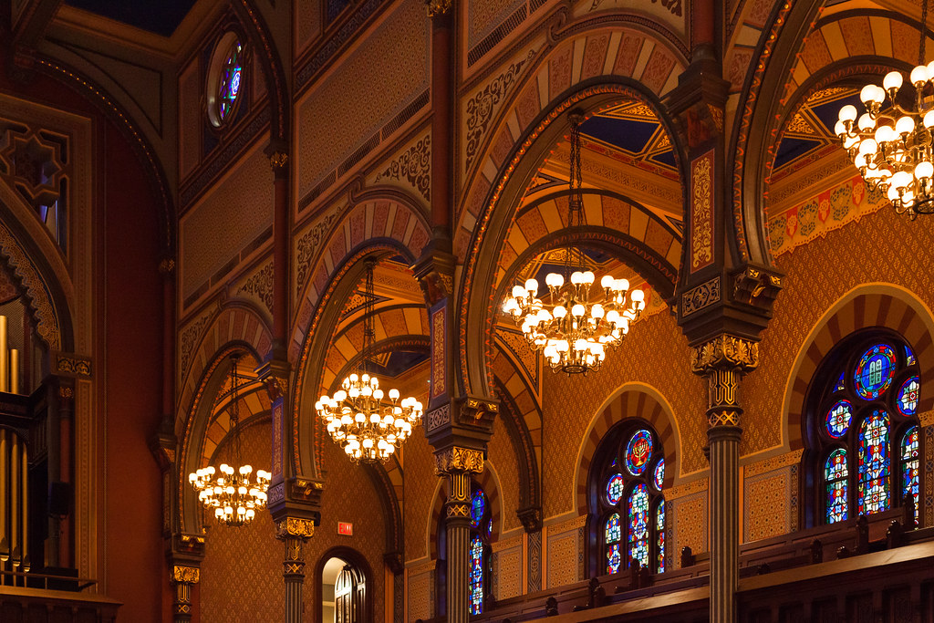 nyc - central synagogue 4 | This wonderful building was part