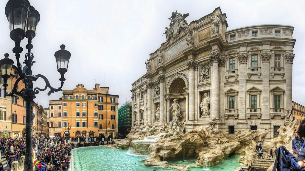 Fontana de Trevi, Roma (I)