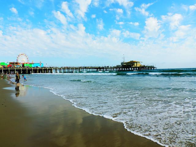 Santa Monica Beach, CA, US