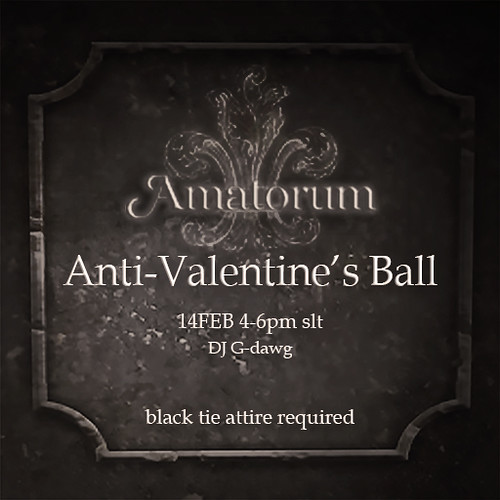 Amatorum Anti-valentine's Day Ball | by Luna Jubilee / !bang poses