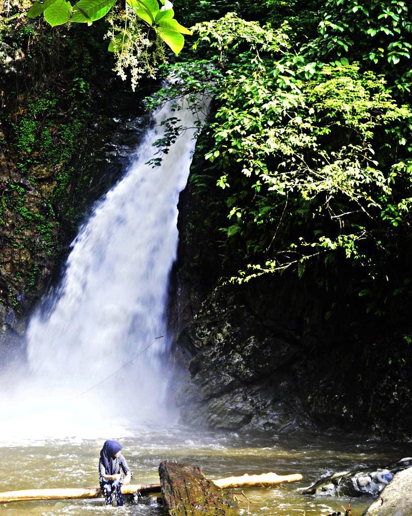 location haratai waterfall loksado kandangan kalsel