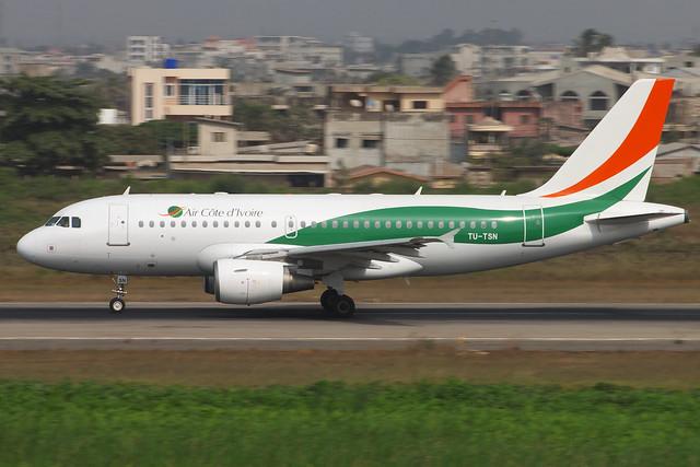 Air Cote d'Ivoire (TU-TSN)