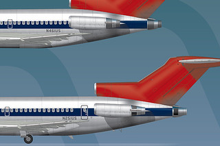 Northwest Orient Boeing 727-100/200 | by The Chicken Works