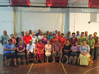 AkvoFLOW Training for Ministry of Education, Heritage and Arts - , FIJI Govt. De Vos in the Park, Suva, Fiji, 8, 11-12 Feb 2016.  http://akvo.org/ | by everyoneisgone