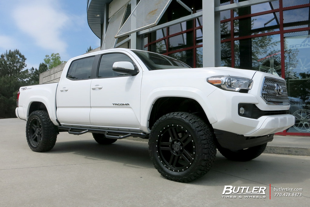 ... Toyota Tacoma With 20in Black Rhino Mojave Wheels | By Butler Tires And  Wheels