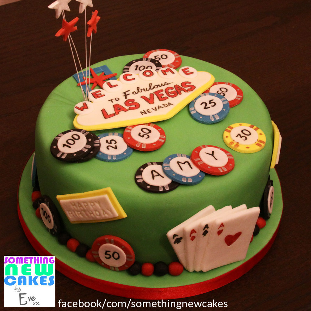 Las Vegas Birthday Cake Eve Bedder Flickr
