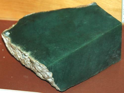 Green Nephrite Jade Precambrian Granite Mountains Wyomi
