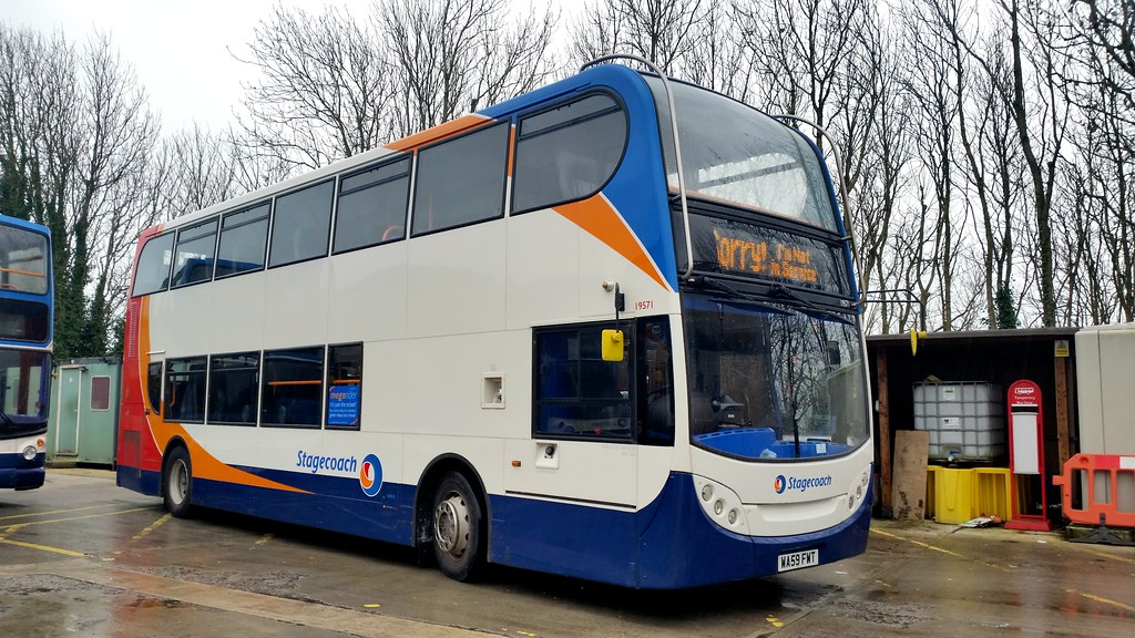 ... 19571 - Stagecoach Southwest Barnstaple February 2016   by Dave Growns