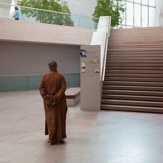 Monk at the National Gallery of Art | by nan palmero