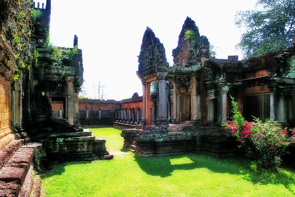 Cambodia - Banteay Samrei Temple - 4d | Banteay Samré (Khmer