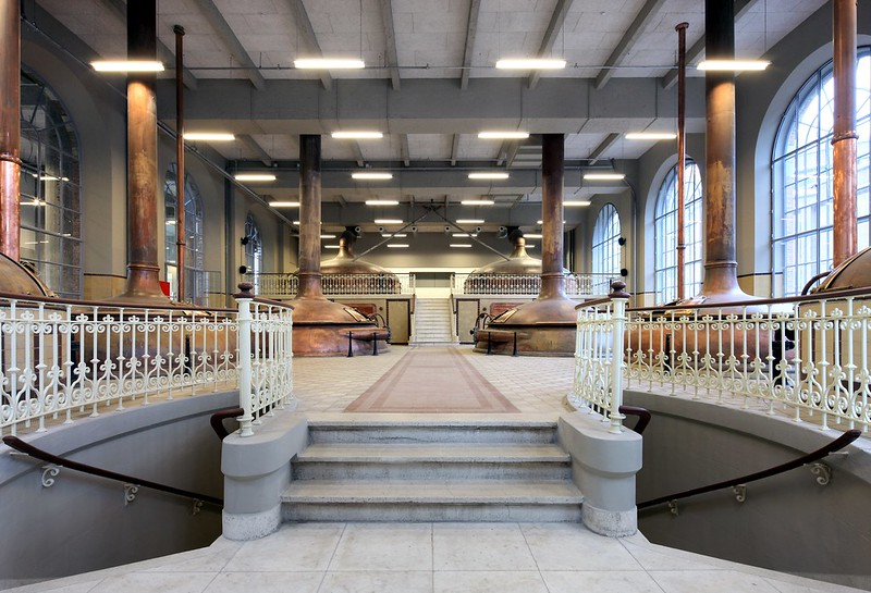 Conversion of De Hoorn brewery into a creative hub, Leuven, BELGIUM