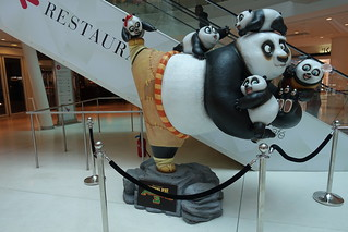 Kung Fu Panda @ Shopping mall @ Beaugrenelle @ Paris | by *_*