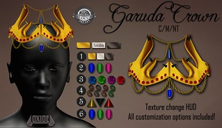Garuda Crown for The Fantasy Collective