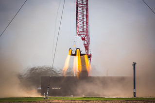 SpaceX Dragon Propulsive Descent Landing Test | by NASAKennedy